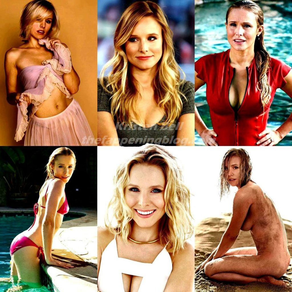 Kristen Bell Nude & Sexy (1 New Collage Photo)