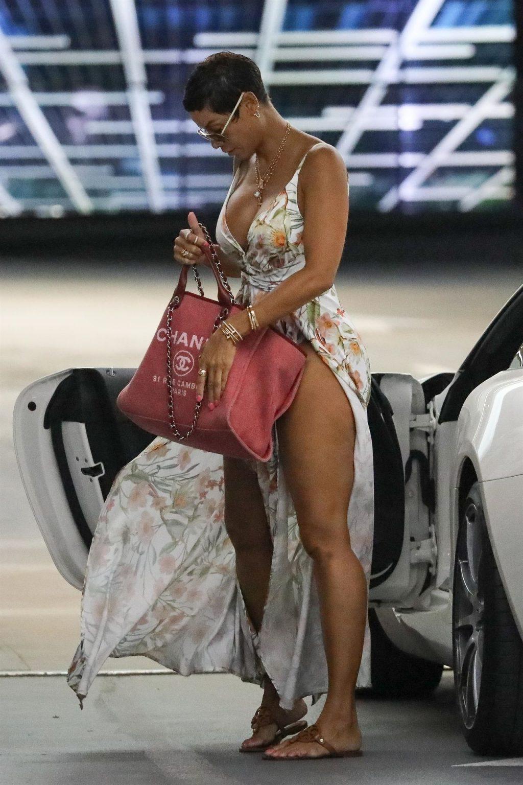 Nicole Murphy Stuns in a Sexy Dress at Soho House (18 Photos)