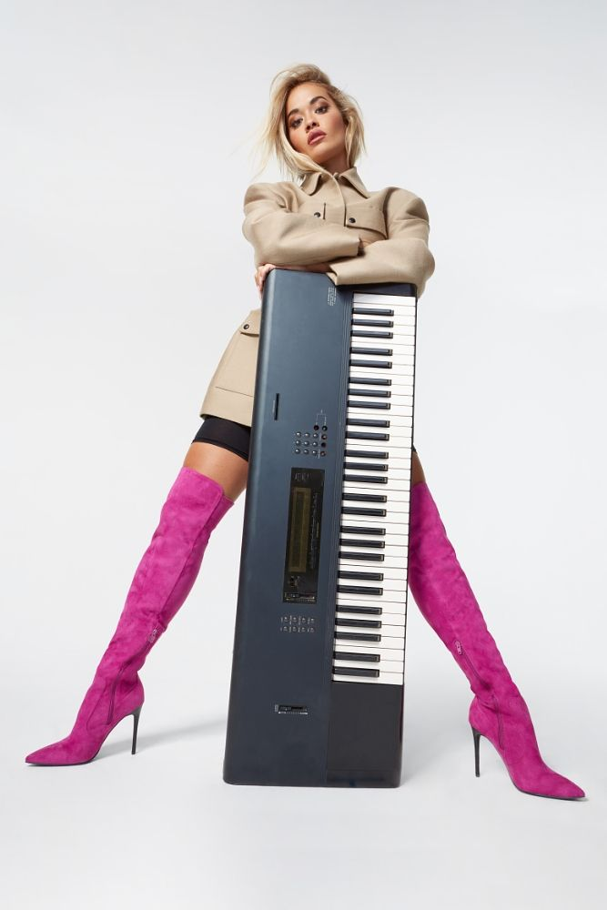 Rita Ora Looks Stunning as She Models a New Shoe Collection (33 Photos + Video)