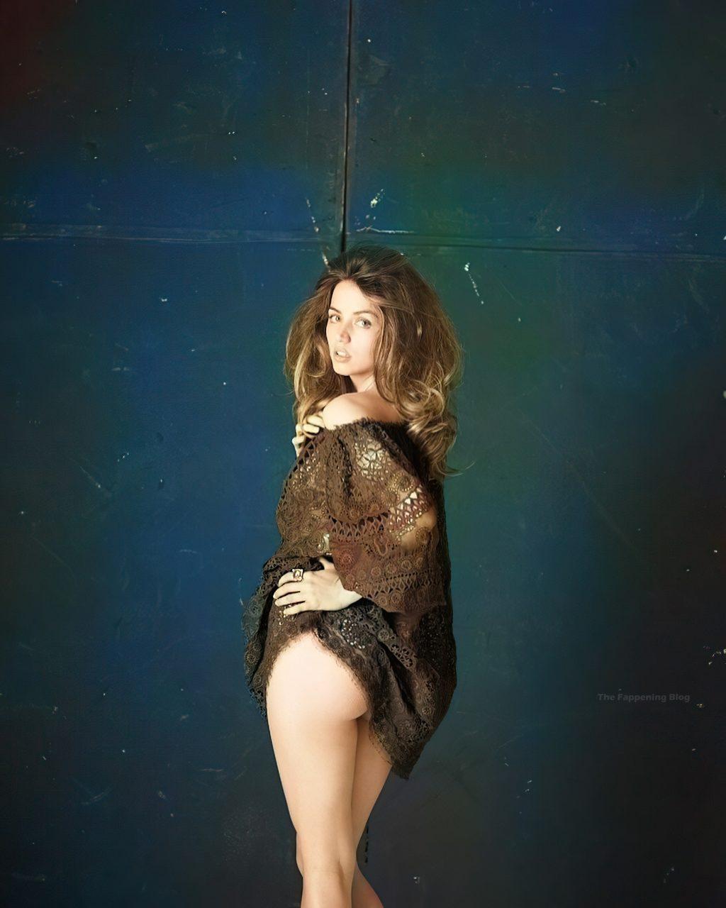 Ana de Armas See Through & Sexy (16 Colorized Photos + Video)