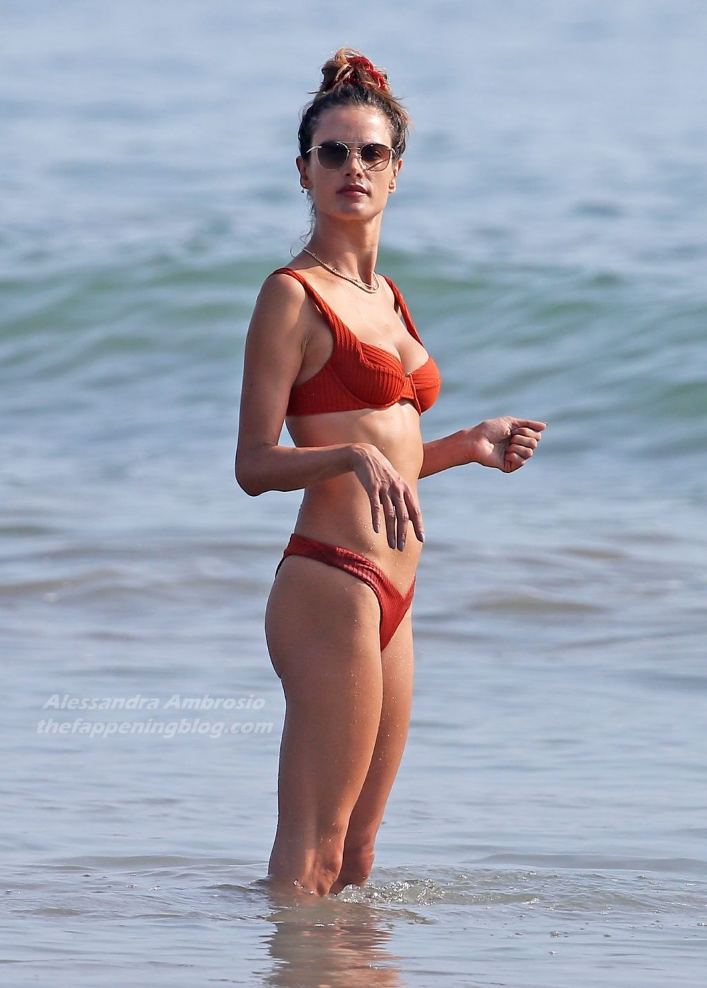 Alessandra Ambrosio Plays Beach Volleyball with Friends (34 Photos)