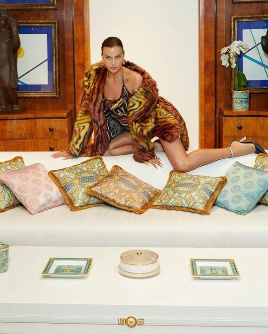 Irina Shayk Shows Off Her Long Legs for Vogue Magazine (10 Photos)