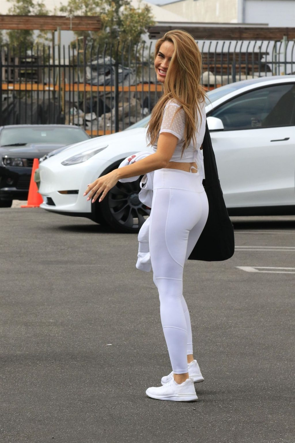 Chrishell Stause is All Smiles as She Finishes Her Saturday Practice (76 Photos)