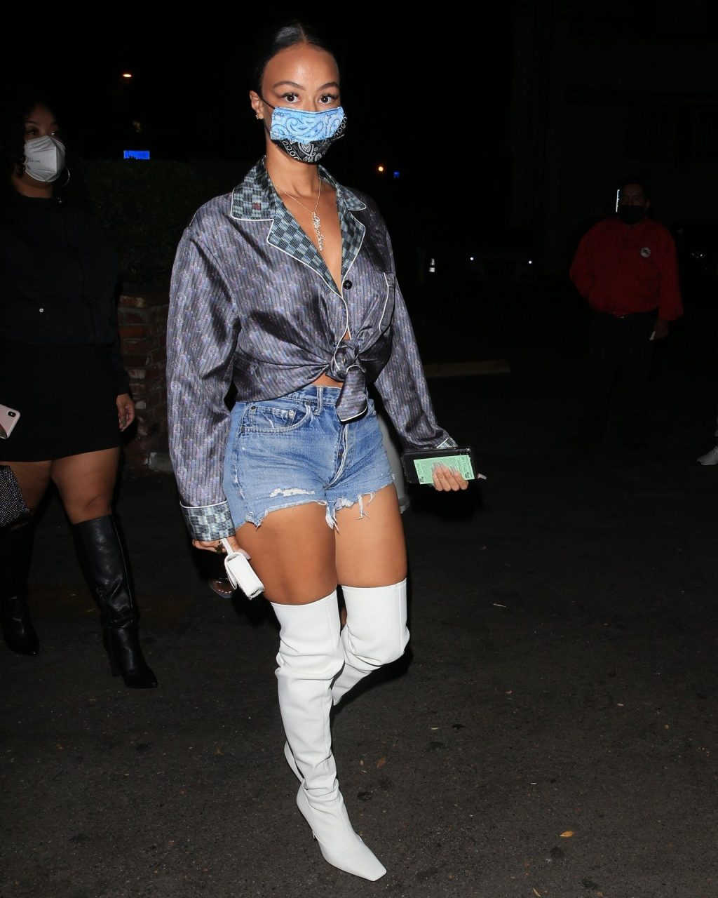 Draya Michele is Spotted Arriving to the LA Lakers Championship Celebration (29 Photos)