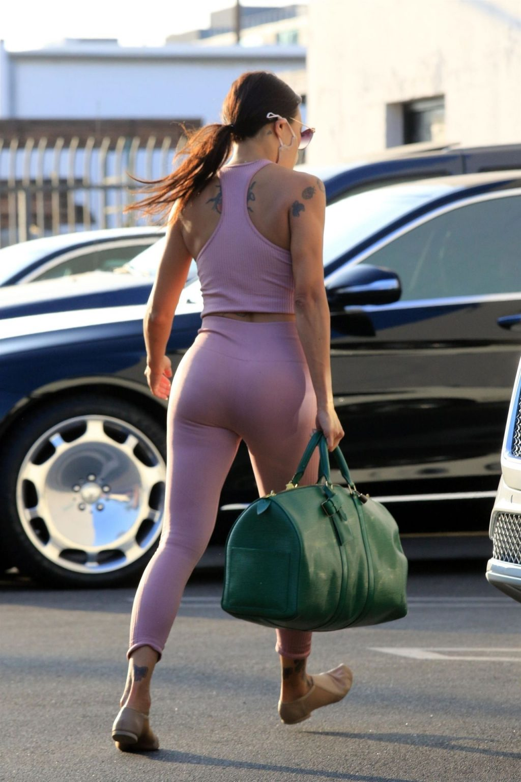 Jeannie Mai Shows Off Her Curves at the Dance Studio (47 Photos)