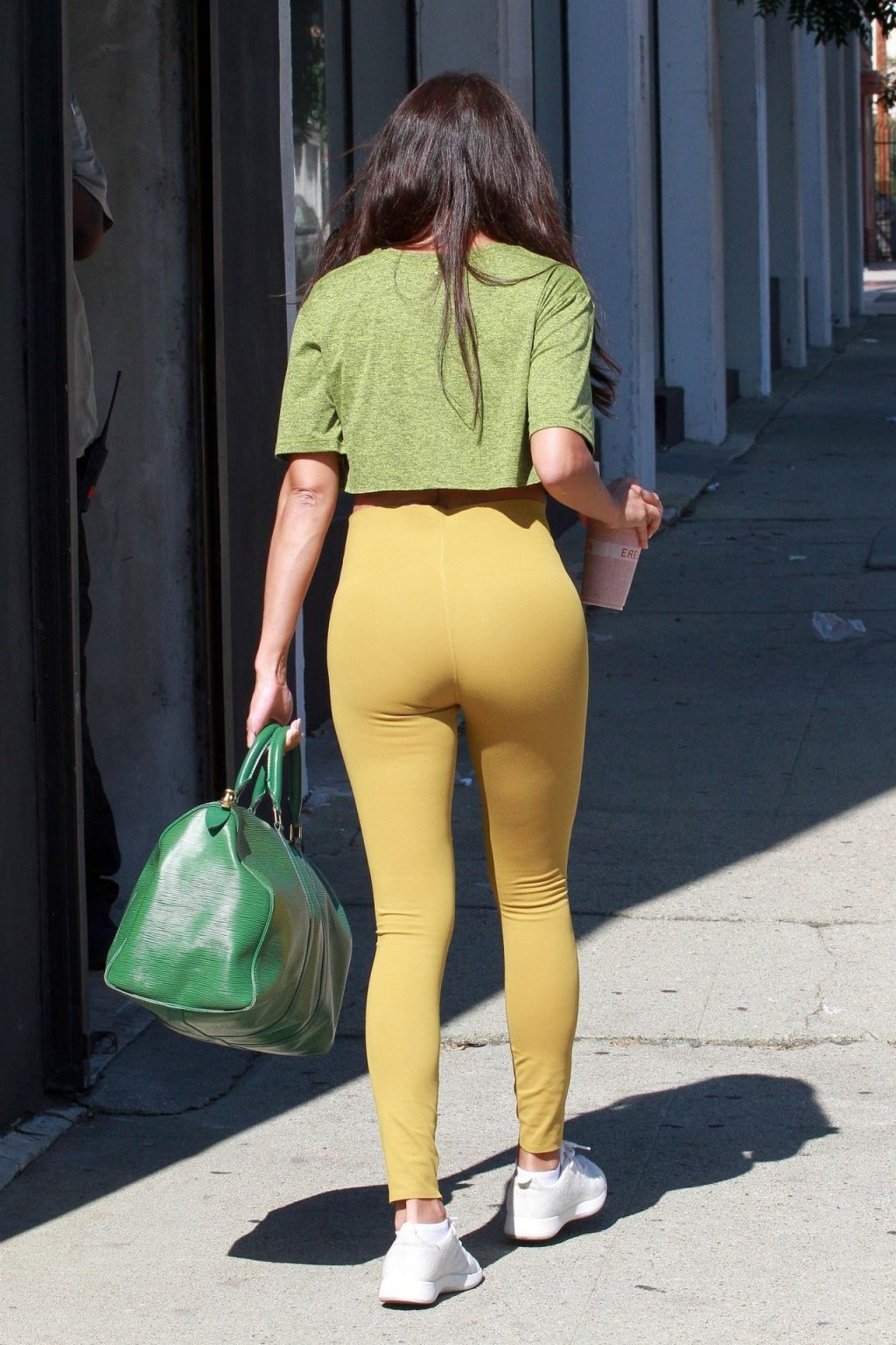 Jeannie Mai Shows Off Her Cameltoe and Ass at the Dance Studio (34 Photos)