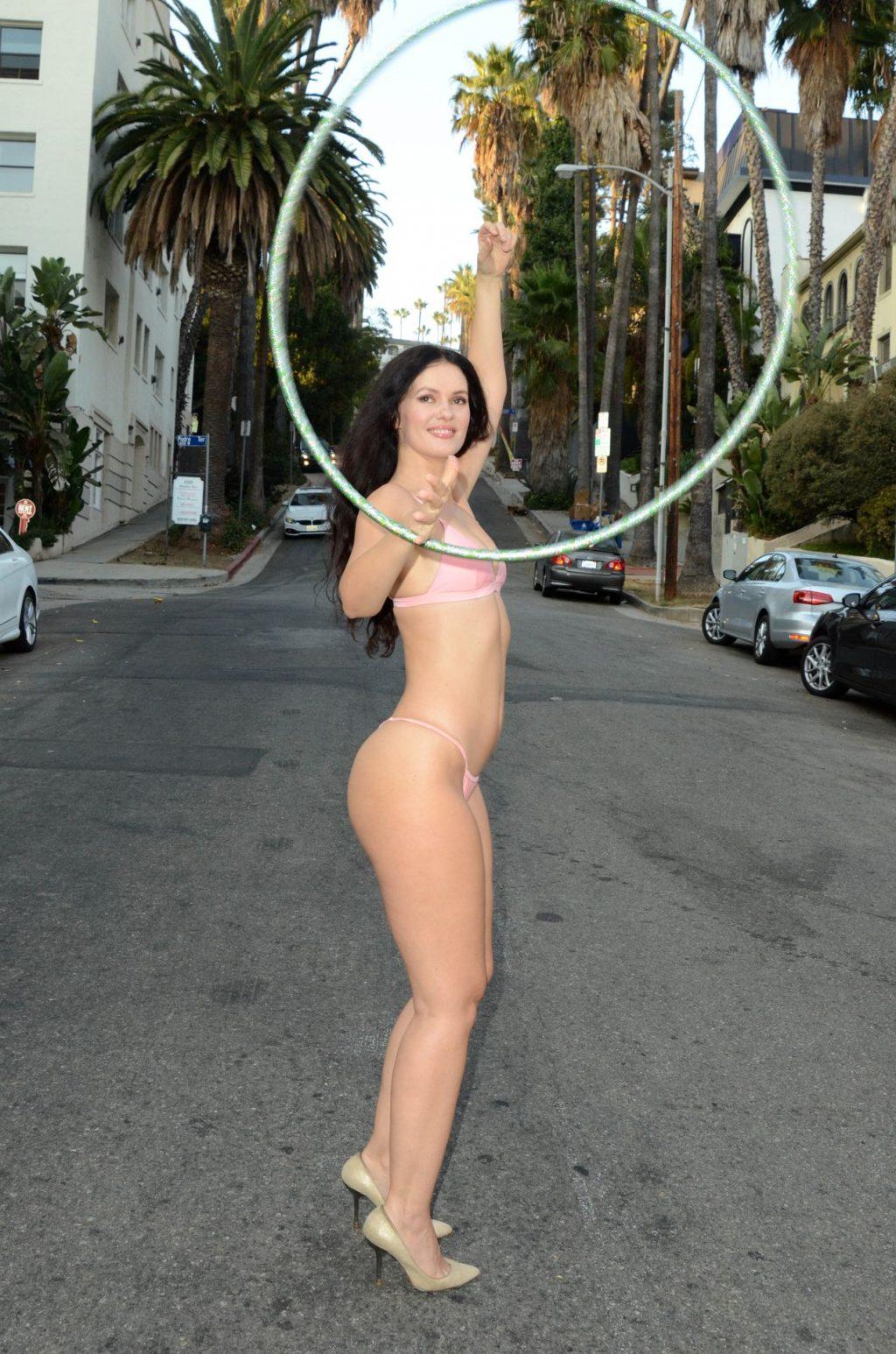 Natasha Blasick Gets Her Hula On (34 Photos)