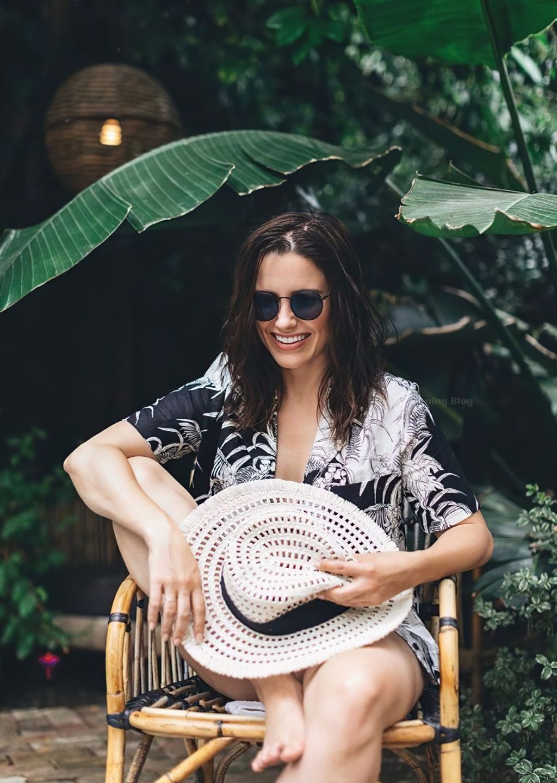 Sophia Bush Poses Braless (6 Photos)
