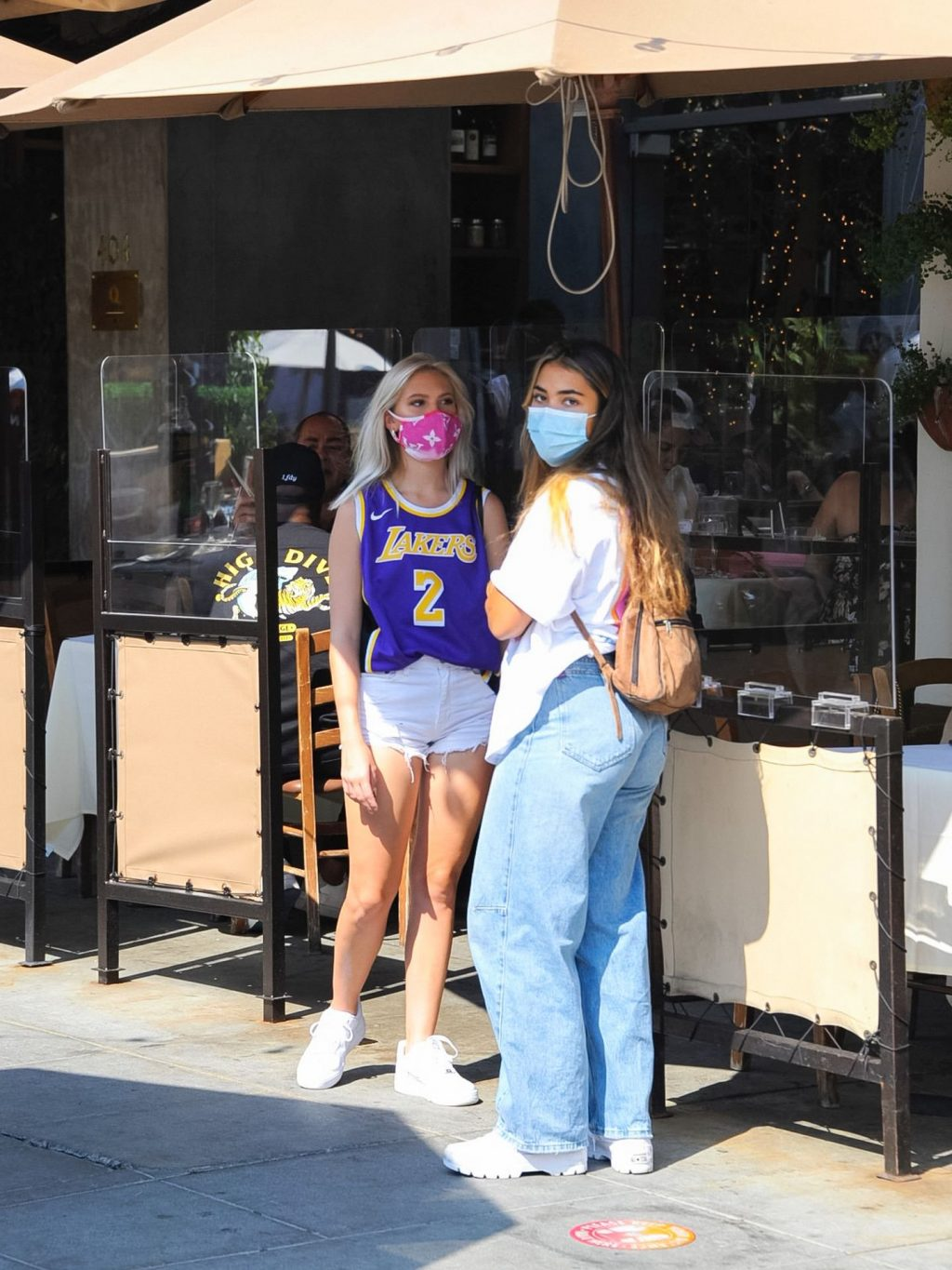 Jordyn Jones, Sienna Gomez, and Simona Gibson Have Lunch Together in LA (47 Photos)