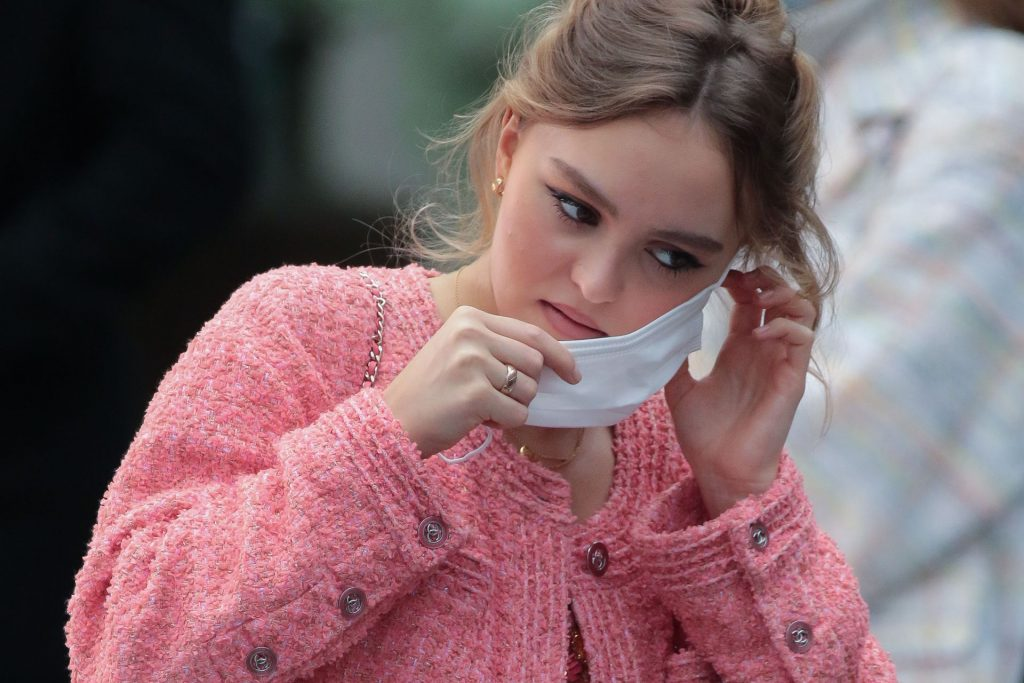 Tittyless Lily-Rose Depp is Seen at the Chanel Fashion Show in Paris (57 Photos)
