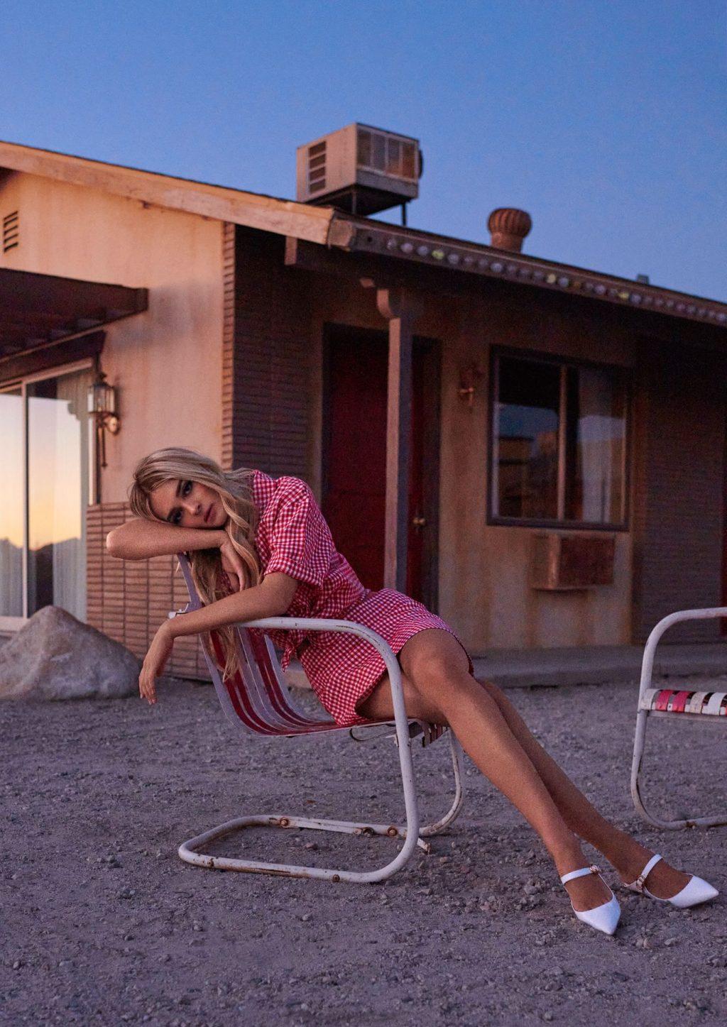 Charlotte Lawrence Sexy – Cosmopolitan Magazine (13 Photos)