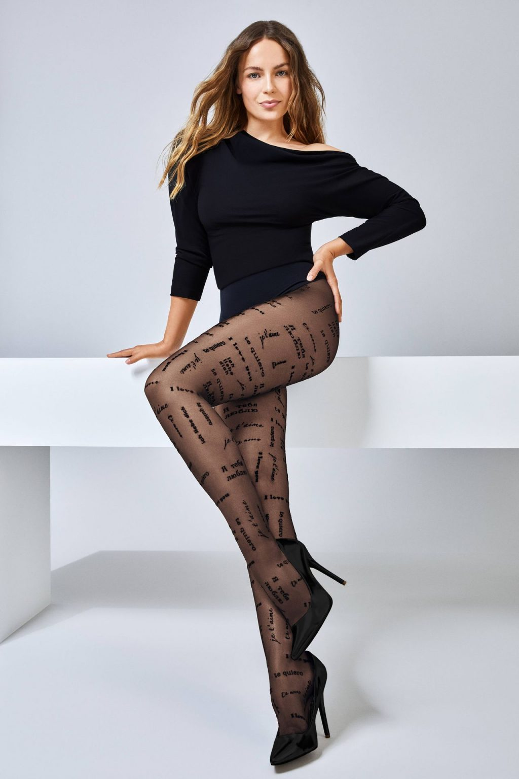Emma Louise Connolly Stars in Calzedonia Legwear Campaign (19 Photos)