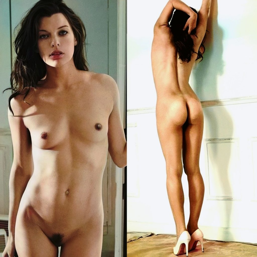 Milla Jovovich Nude Full Frontal