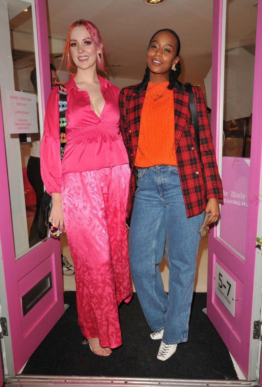 Victoria Clay Looks Hot in All Pink in London (30 Photos)