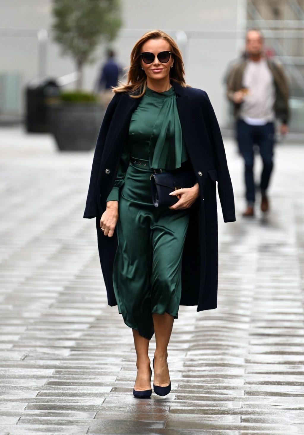 Amanda Holden is Seen Leaving the Global Studios (32 Photos)