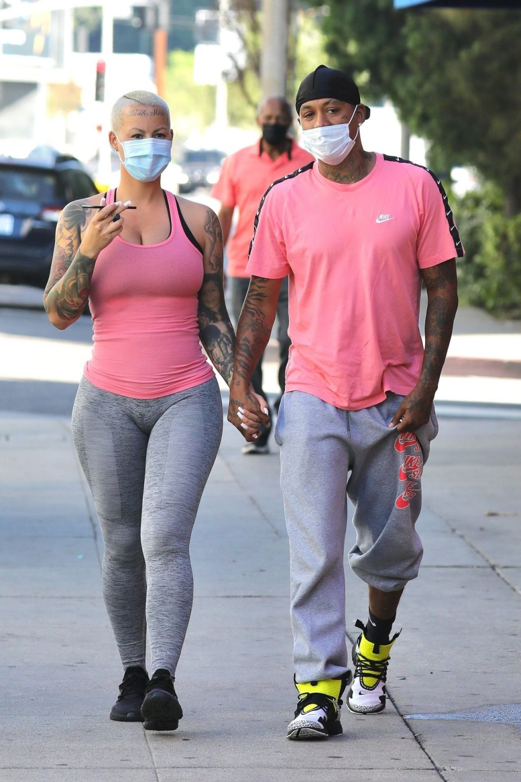 Amber Rose & Alexander Edwards are a Matching Duo (55 Photos)