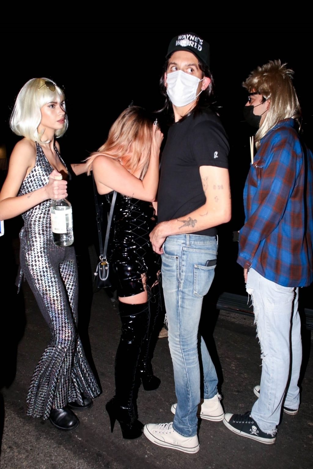 G-Eazy and Ashley Benson Get in the Halloween Spirit as They Attend a Party in LA (15 Photos)