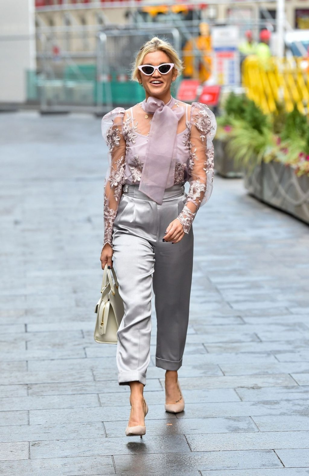Ashley Roberts Shows Her Pokies in London (22 Photos)