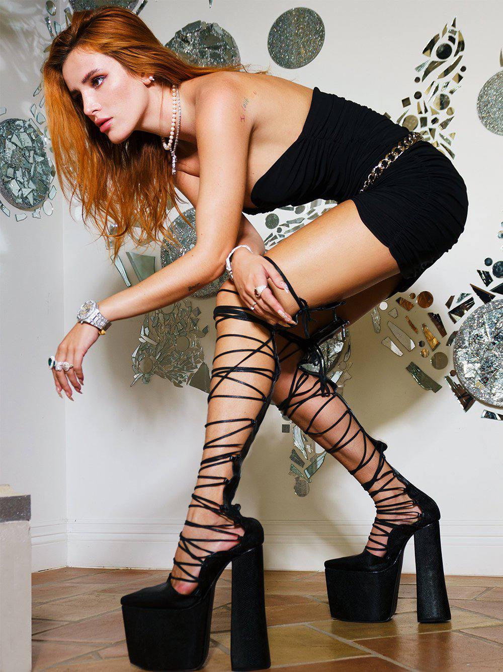 Bella Thorne Promotes ZCrave F3tish Campaign (35 Photos)