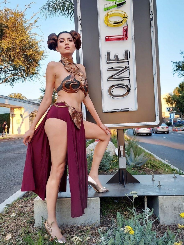 Blanca Blanco Gets Ready for Halloween as Princess Leia (21 Photos)