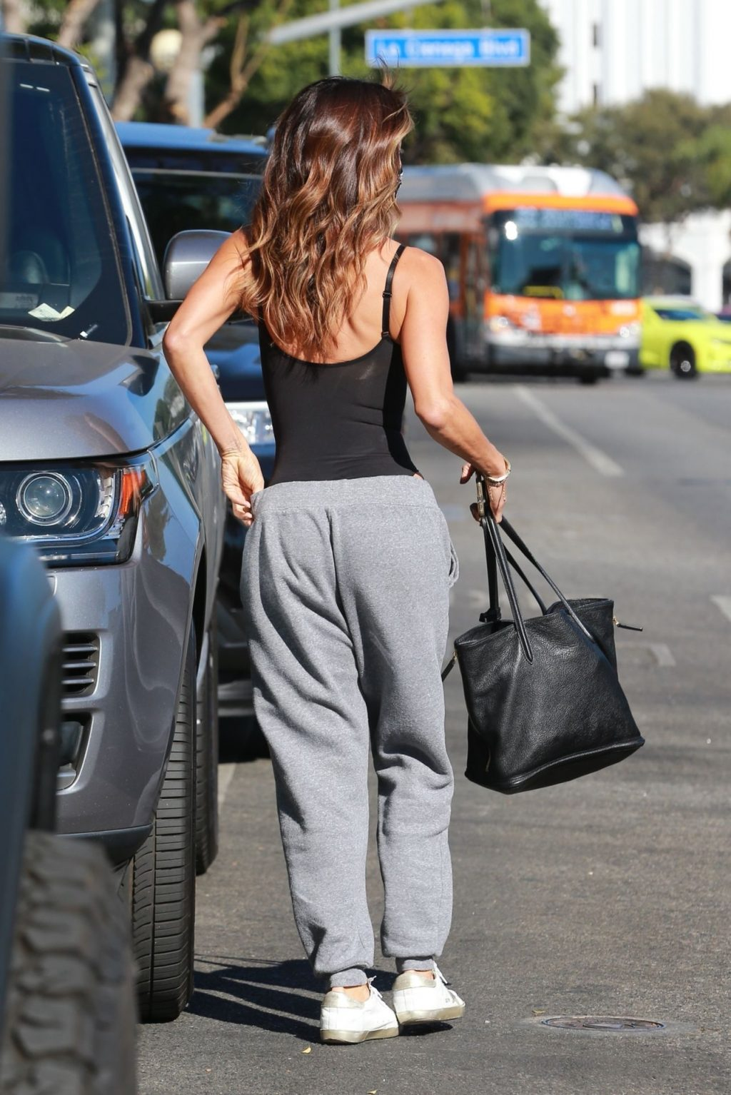 Brooke Burke Displays Her Skinny Body After Hitting the Gym (25 Photos)
