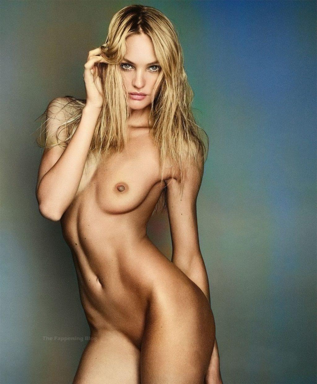 Candice Swanepoel Nude (5 Colorized Photos)