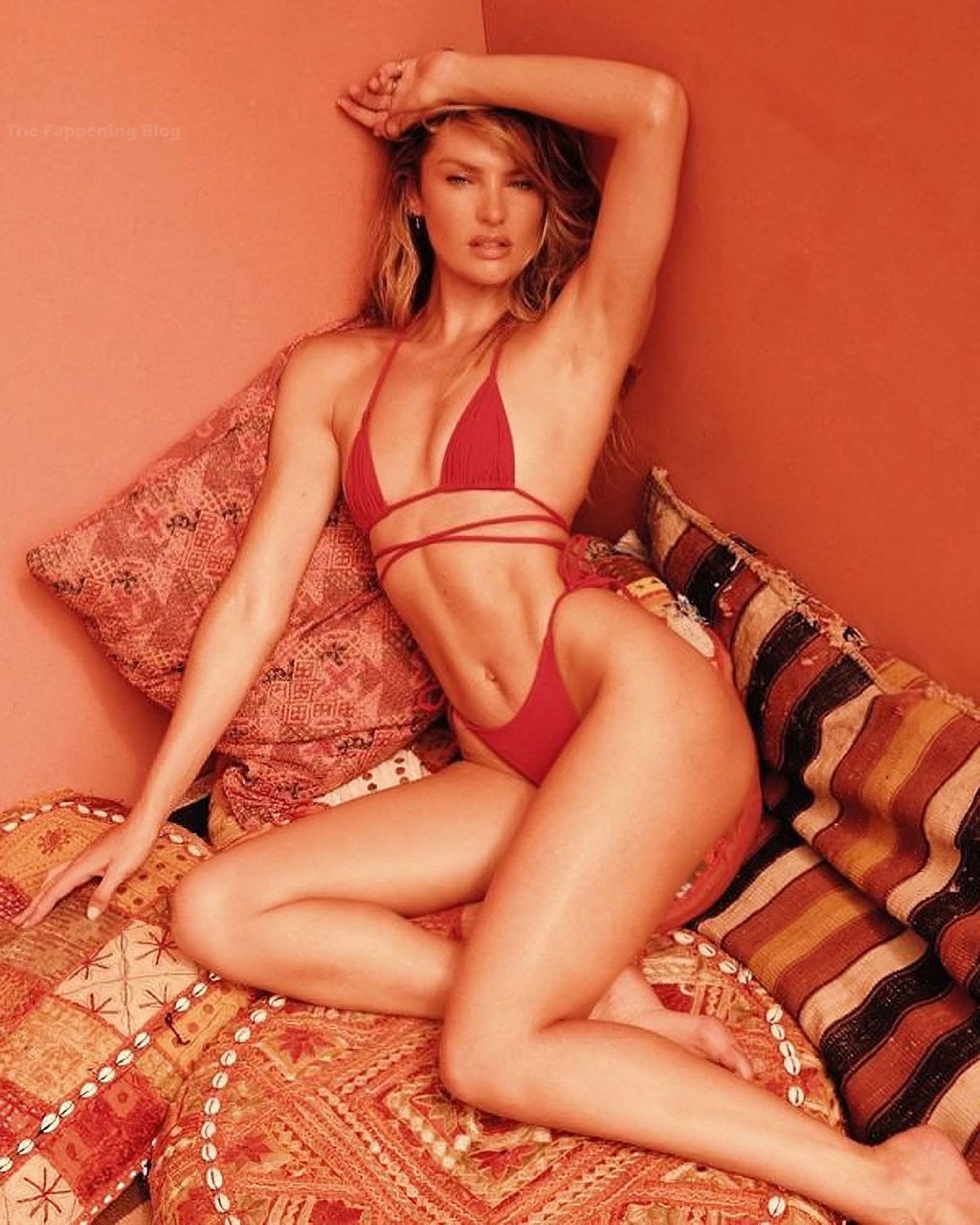 Candice Swanepoel Poses for a New Swimwear Campaign (13 Photos)