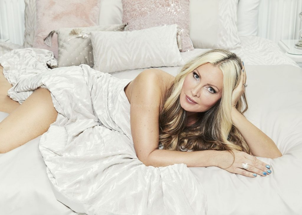 Caprice Bourret Shows Off Her Sexy Body Promoting Her Luxury Brand (3 Photos)
