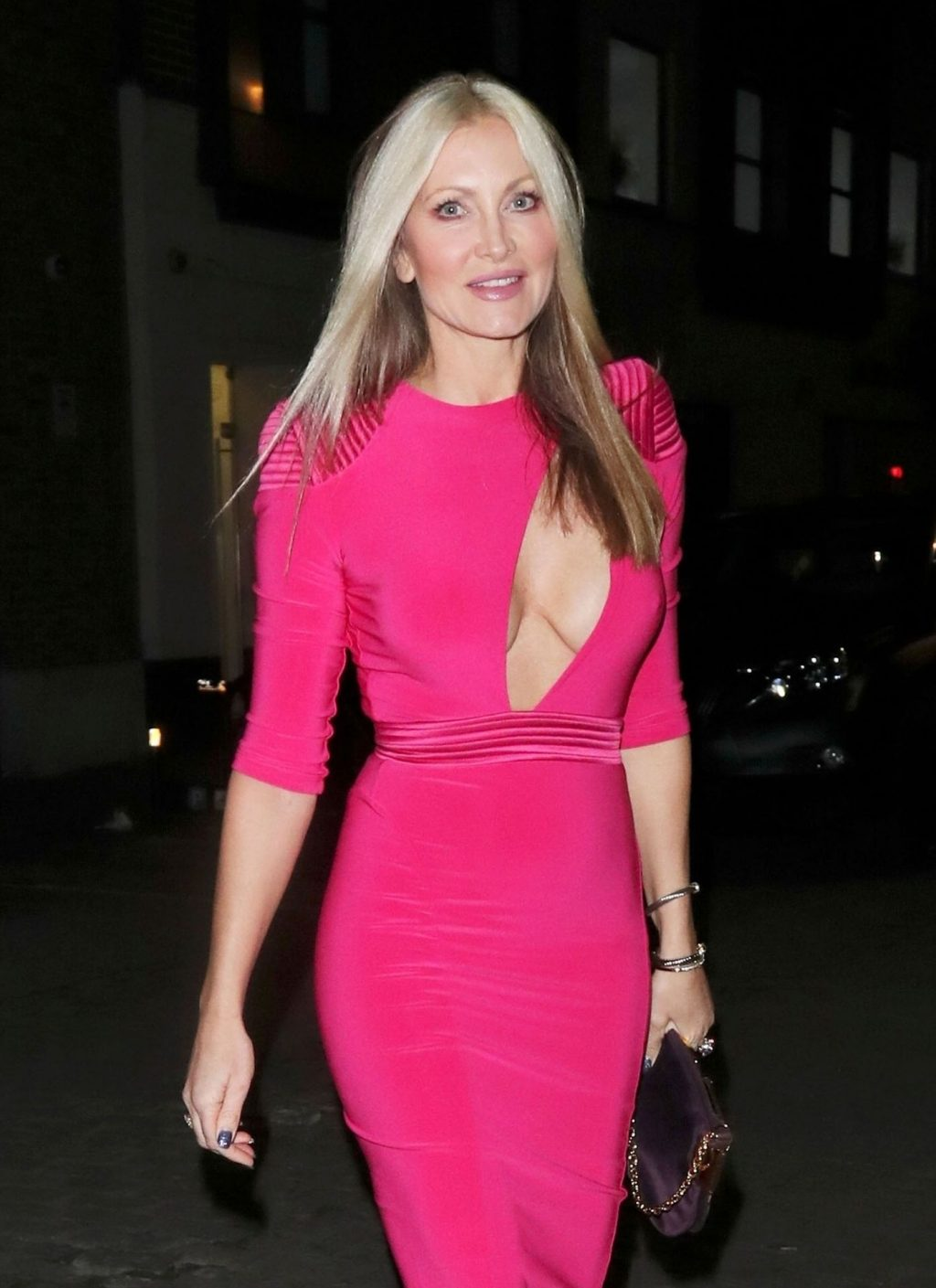 Caprice Looks Stunning as She Flashes Her Cleavage in London (13 Photos)