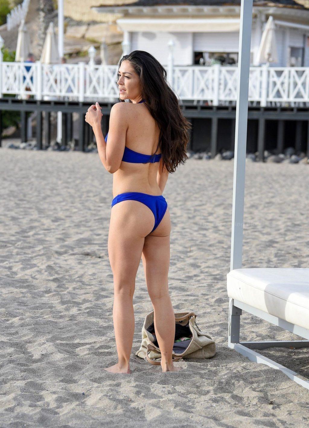 Casey Batchelor is Seen Filming in Tenerife for Her Fitness App (14 Photos)