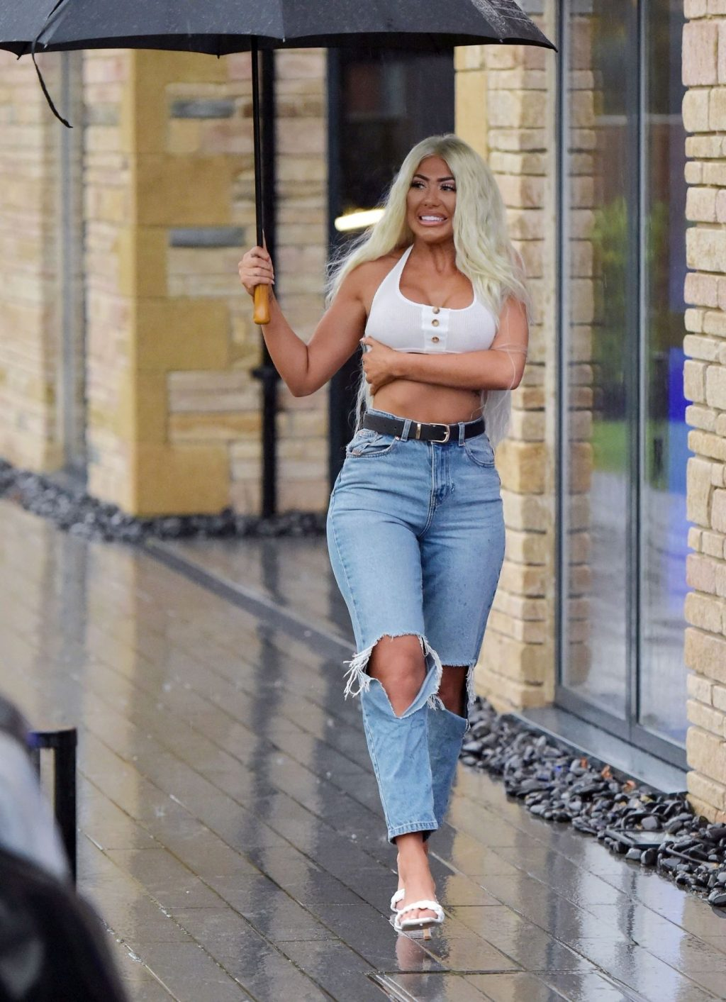 Braless Chloe Ferry Steps Out Showing Off Her Assets (23 Photos)