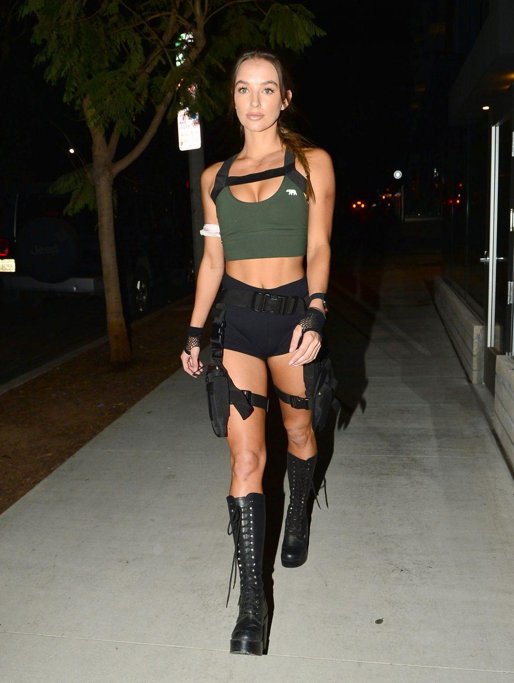 Francesca Farago & Casey Boonstra Arrive at a Private Halloween Party in LA (25 Photos)
