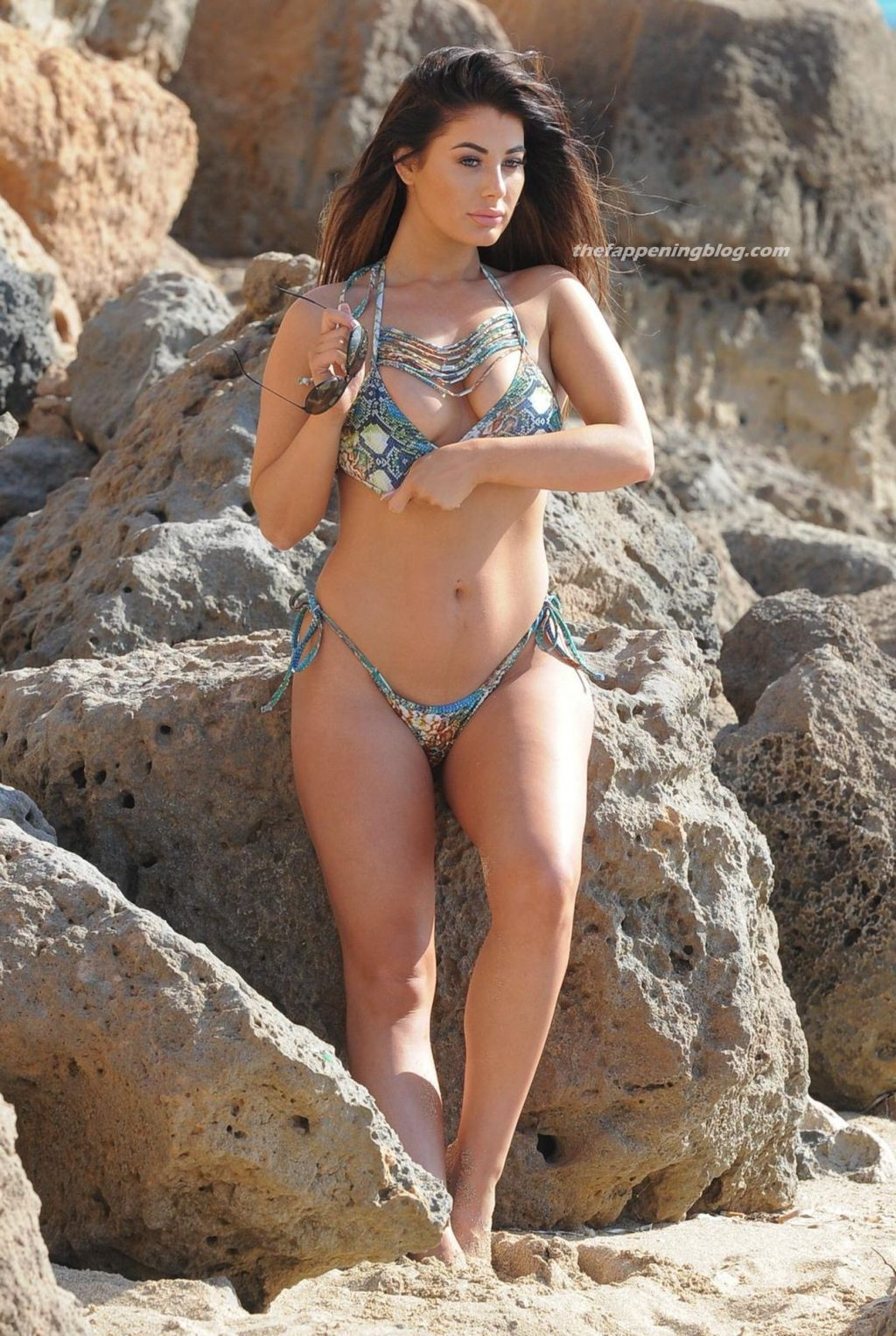 Jess Hayes Relaxes on the Beach During a Recent Trip to Turkey (18 Photos)