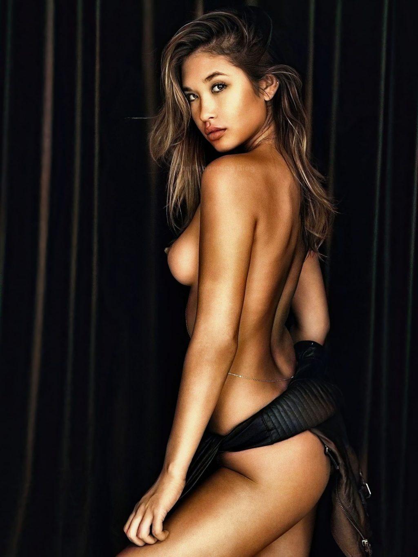 Jocelyn Chew Nude (2 Colorized Photos)