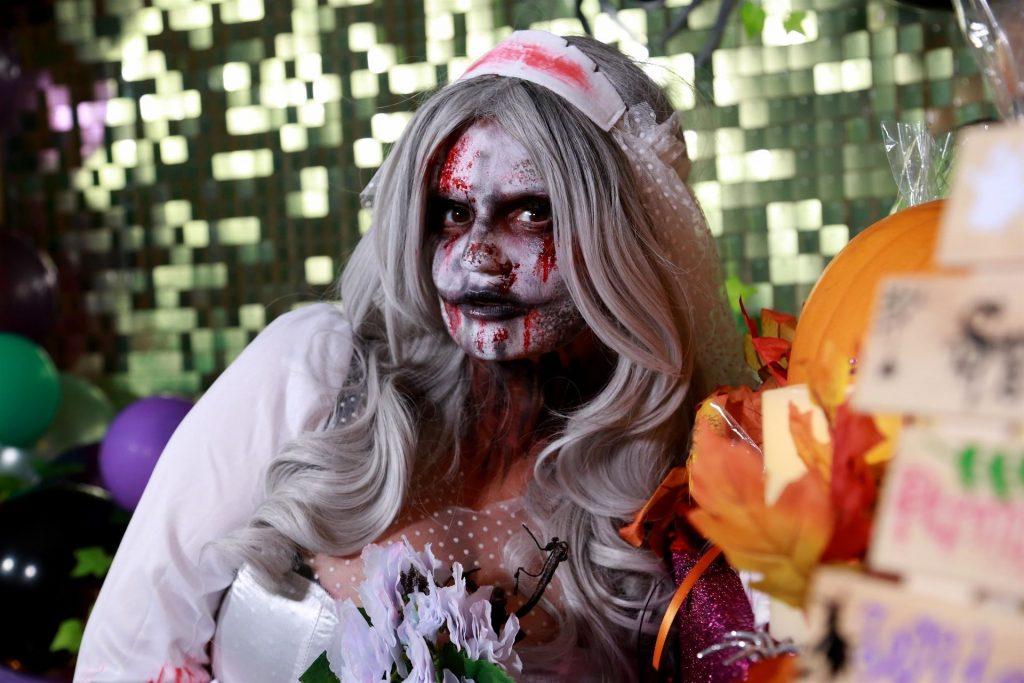 Kerry Katona Celebrates Halloween (62 Photos)