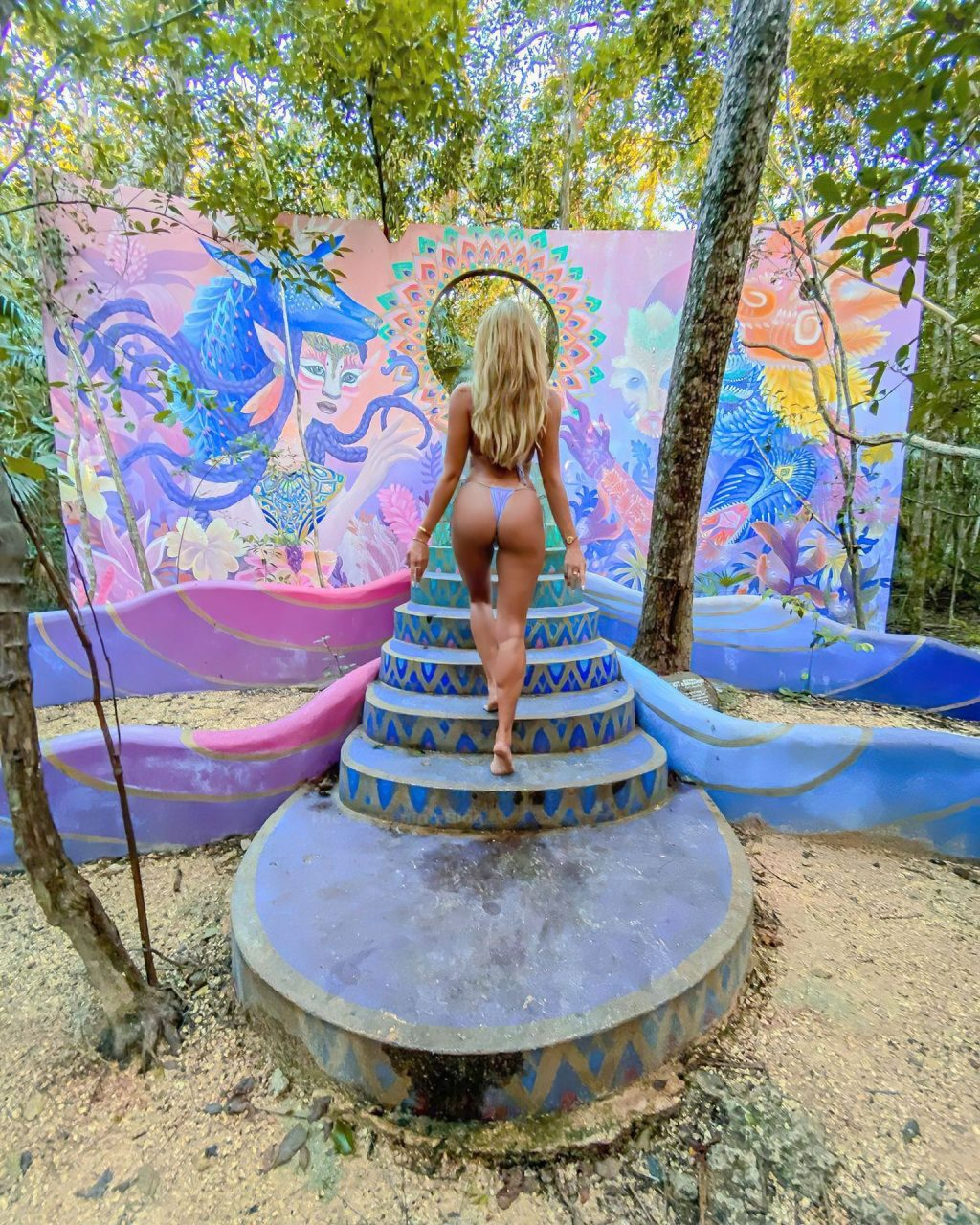 Khloe Terae Poses in a Bikini (10 Photos)