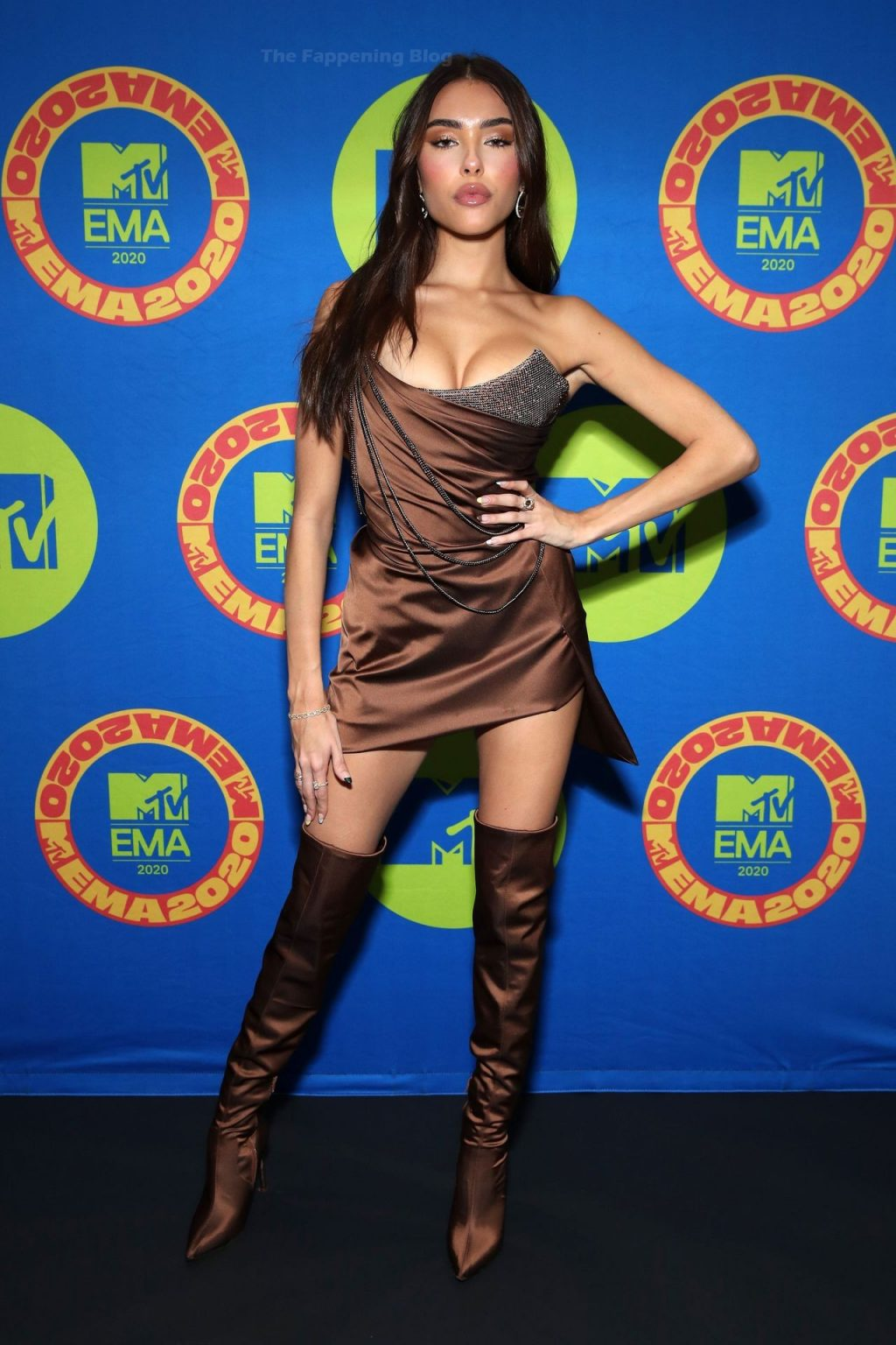Madison Beer Stuns at the MTV EMAs (6 Photos)
