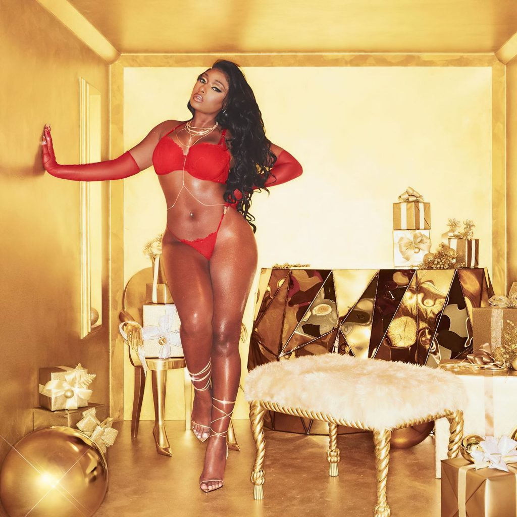 Megan Thee Stallion Poses for a New Holiday 2020 Campaign (8 Photos)