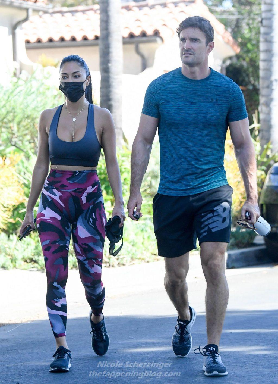 Nicole Scherzinger Flaunts Her Fit Body in LA (16 Photos)