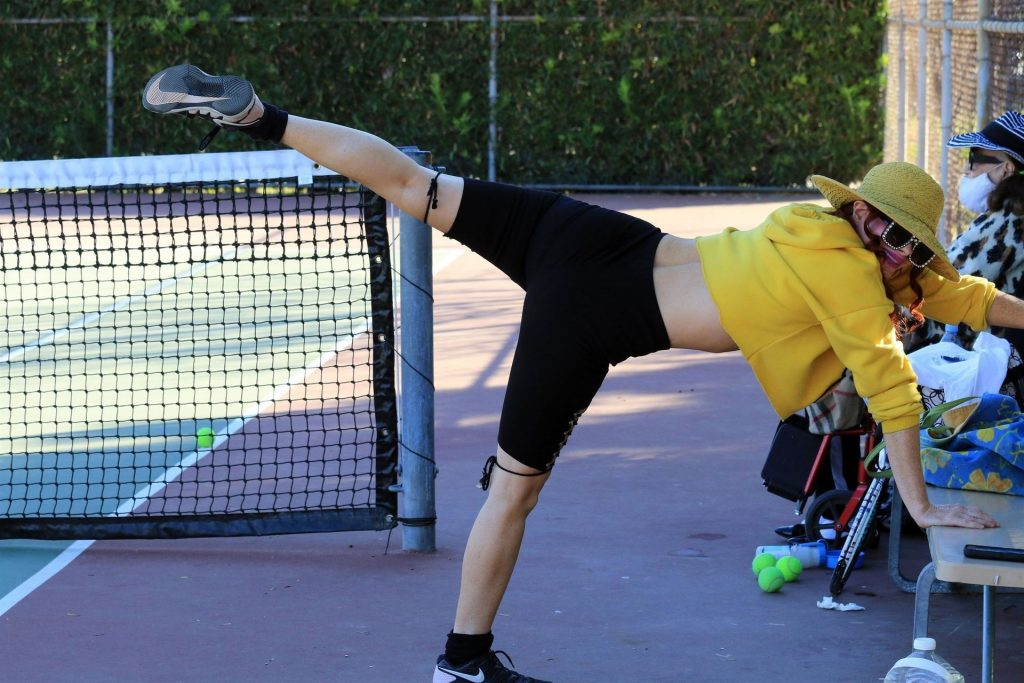 Phoebe Price Has a Nip Slip as She Gets Ready for Tennis (21 Nude & Sexy Photos)