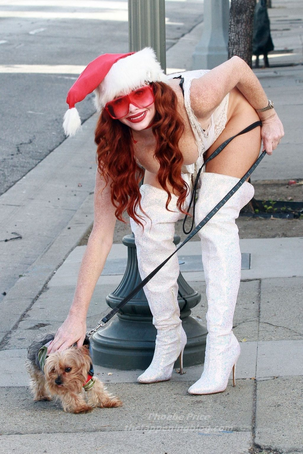 Phoebe Price is Seen in the Spirit for the Holidays (41 Photos)
