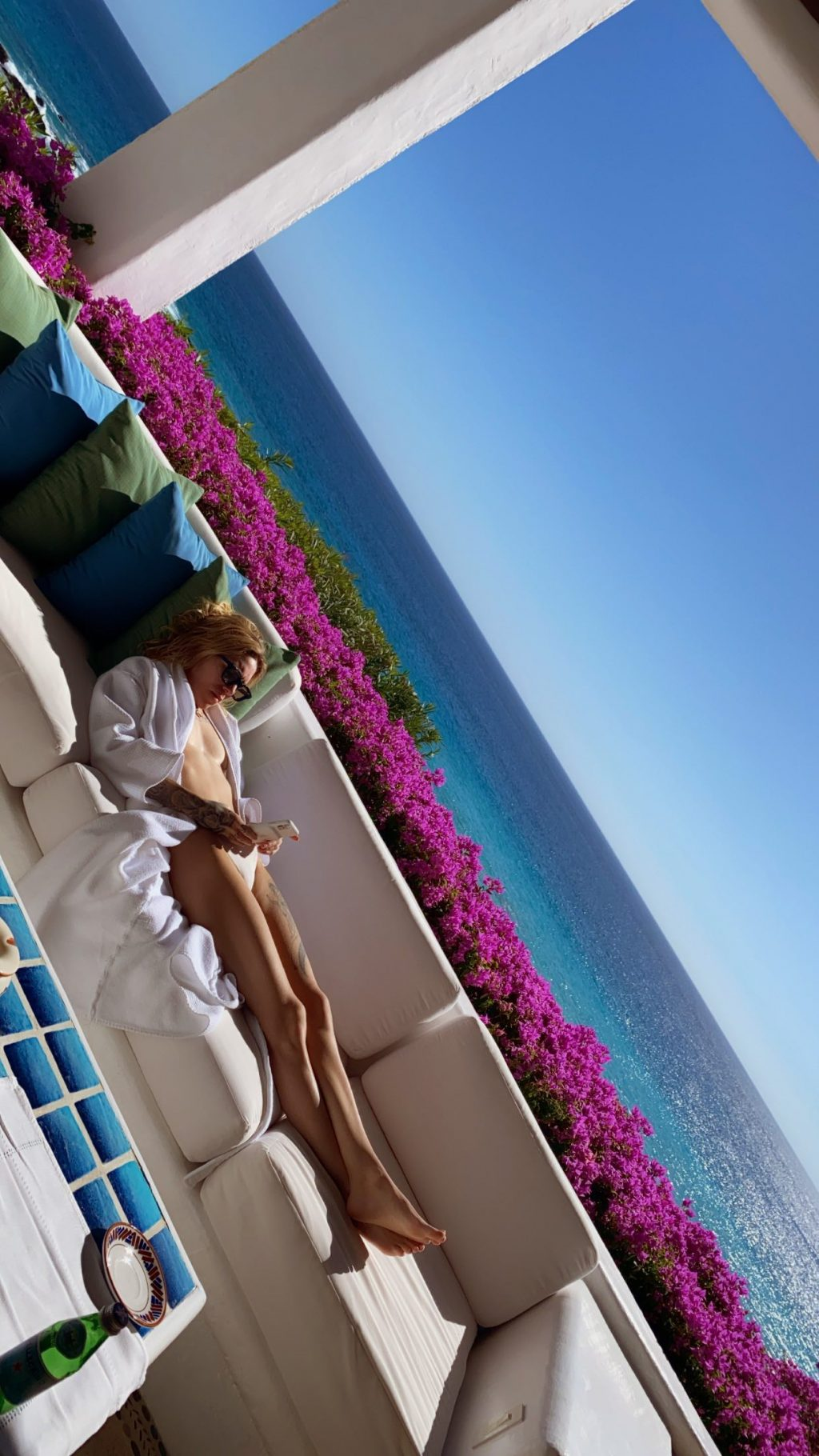 Skylar Grey Flaunts Her Nude Butt and Sexy Bikini Body (4 Photos + Video)