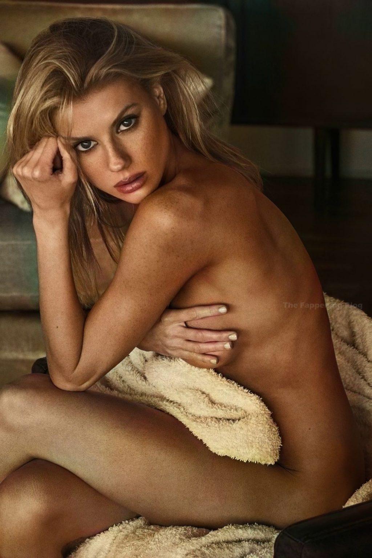 Charlotte McKinney Nude (36 B&W & Colorized Photos)