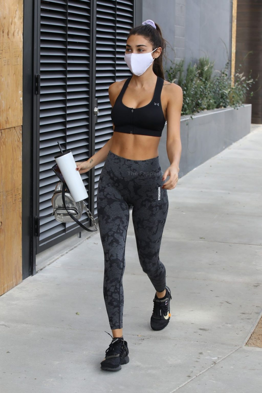Chantel Jeffries Gets an Early Start on Her Workout (24 Photos)