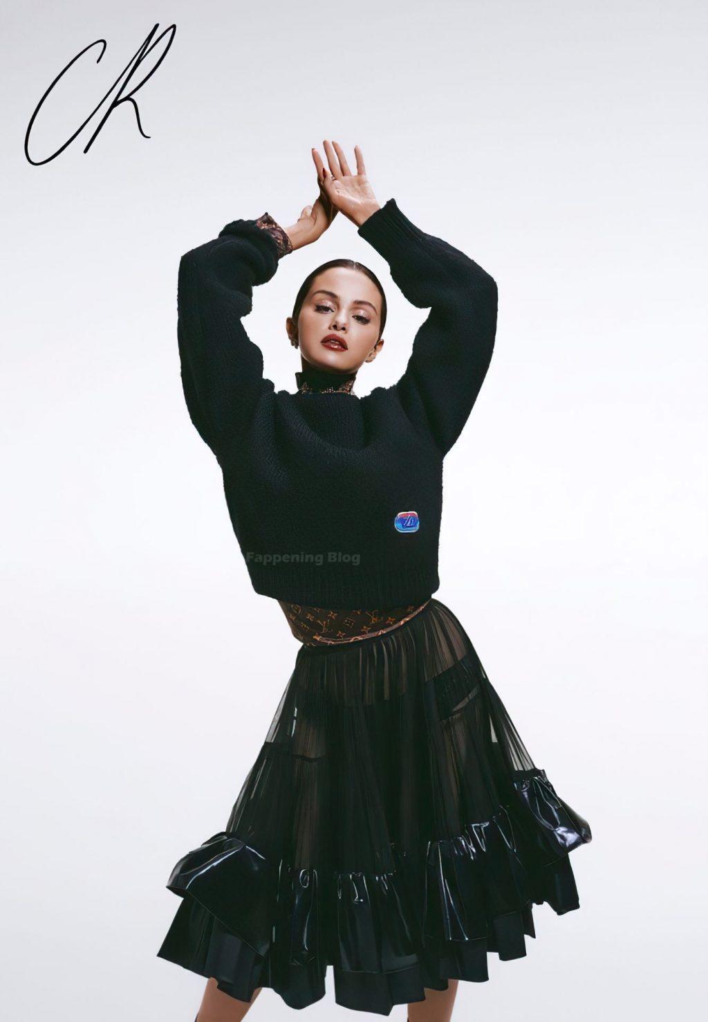 Selena Gomez Sexy – CR Fashion Book (15 Photos + Video)
