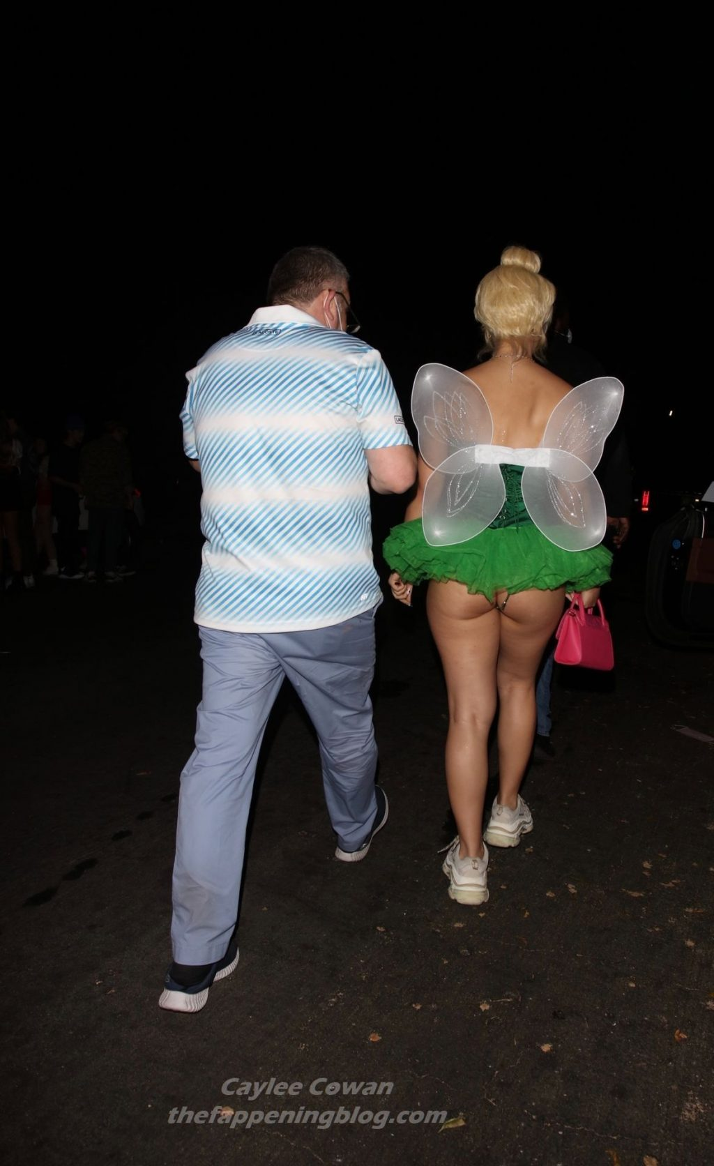 Caylee Cowan is Seen Leaving Dan Bilzerian's Halloween Party (32 Photos)