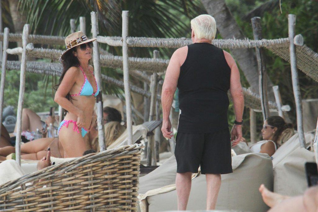 Ric Flair & Wendy Barlow Soak Up the Sun in Tulum (22 Photos)