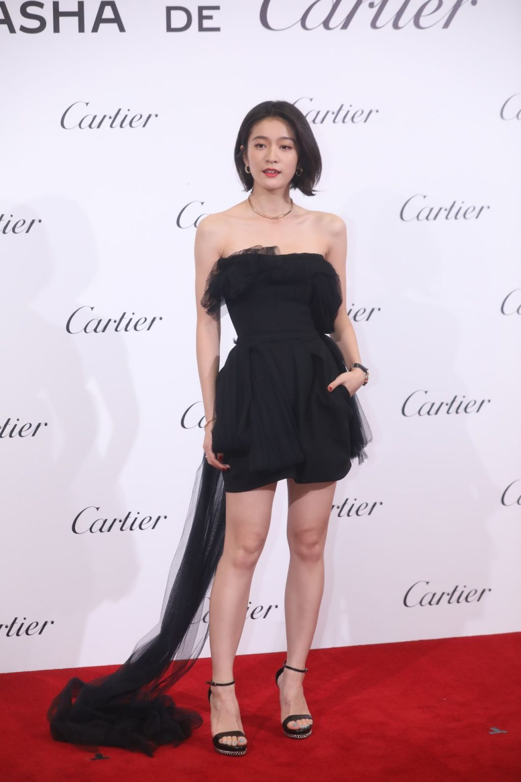 Zhang Xueying Shows Off Her Sexy Legs at a Promotional Event (17 Photos)
