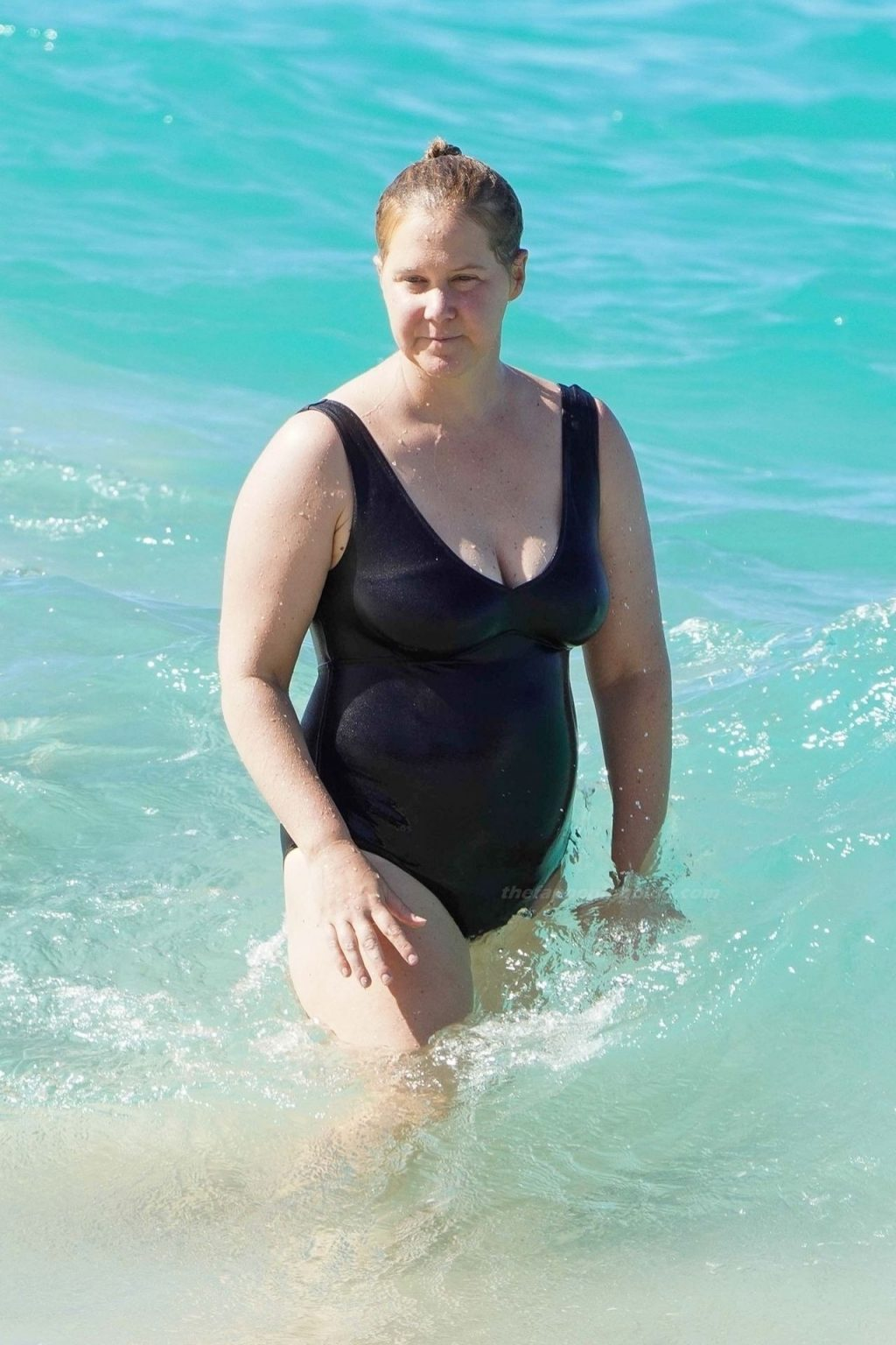 Amy Schumer Enjoys Christmas at the Beach with Her Family in St Barths (20 Photos)