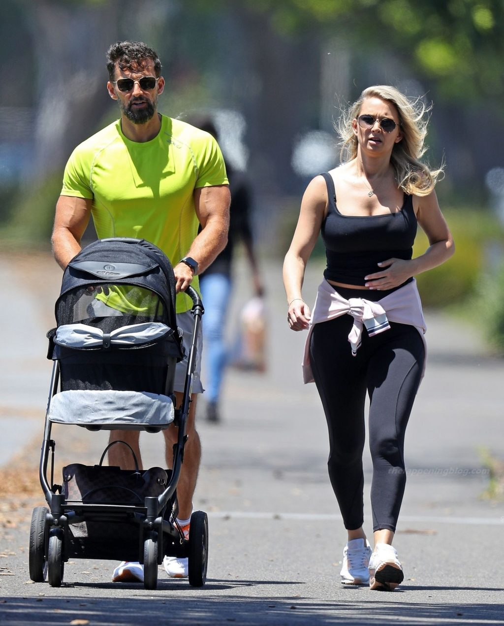 Tim Robards & Anna Heinrich Step Out Together (21 Photos)